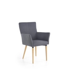 Ēdamistabas krēsls Halmar K274 Dark Grey