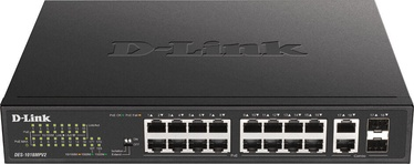 Tīkla centrmezgls D-Link DES-1018MPV2/E