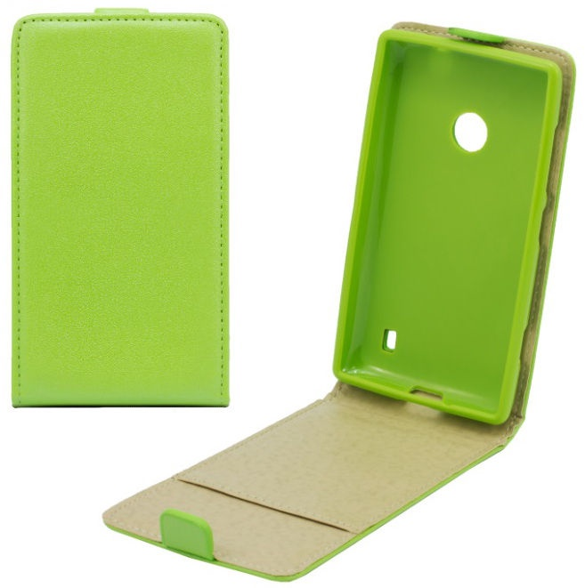Telone Shine Pocket Slim Flip Case Samsung G530 Galaxy Grand Prime Green