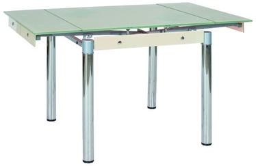 Pusdienu galds Signal Meble GD-082 Cream, 1310x800x750 mm