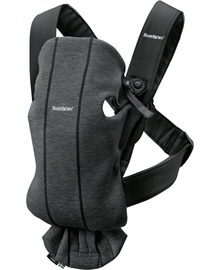 Babybjorn Baby Carrier Mini Charcoal Grey 3D Jersey