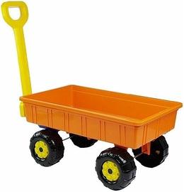 Smilšu kastes rotaļlietu komplekts RoGer, oranža