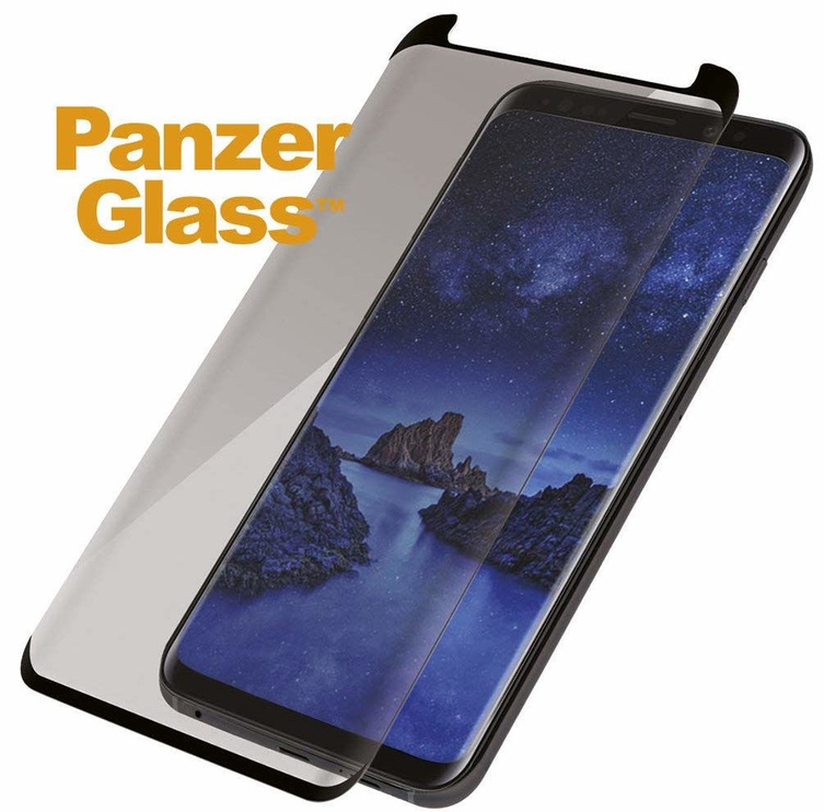 PanzerGlass Screen Protector With Privacy Filter For Samsung Galaxy S9 Plus Black