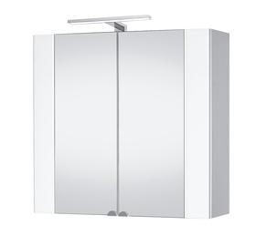 Vannas istabas skapītis ar spoguli Riva SV80-10 79x73x20cm 21,4kg, balts