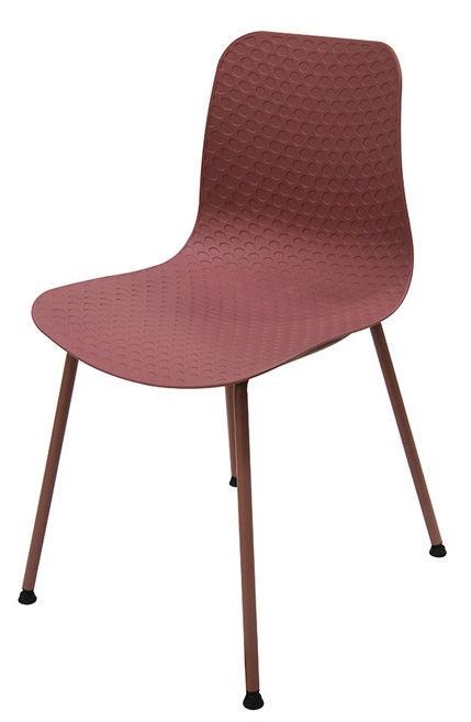 Ēdamistabas krēsls Verners Peskara Pink, 1 gab.