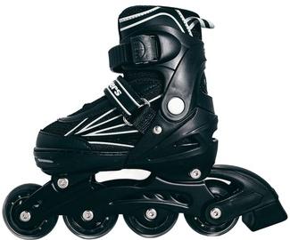 Ролики Outsiders Adjustable Kids Inline Rollerblades Black/Grey 31-34cm