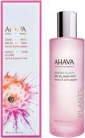 AHAVA Deadsea Plants Dry Oil Body Mist 100ml Cactus & Pink Pepper
