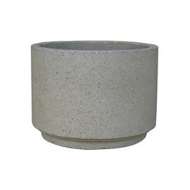 SN Ceramic Flower Pot RP17-331 D25cm Grey