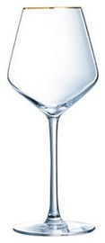 Eclat Ultime Universal Gold Rim Wine Glass 38cl 4pcs