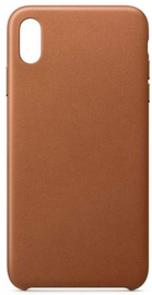 Hurtel ECO Leather Back Case For Apple iPhone XS Max Brown