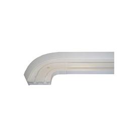 Направляющая Domoletti Curtain Rod 2 Rails 240cm White