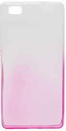 Mocco Gradient Color Back Case For Samsung Galaxy A3 A320 Transparent/Rose