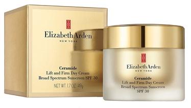 Sejas krēms Elizabeth Arden Ceramide Lift And Firm Day Cream Broad Spectrum SPF30, 50 ml
