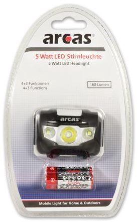 Arcas 5W Headlight LED Light 3 x R03