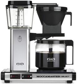Kapsulas kafijas automāts Moccamaster KBG 741, sudraba