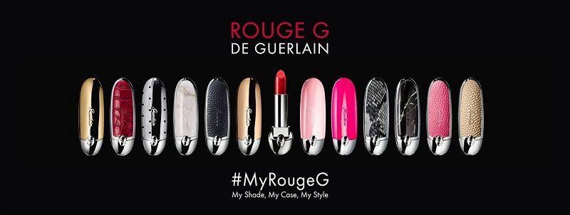 Guerlain Rouge G de Guerlain Double Mirror Case 1pcs Neon-Ista