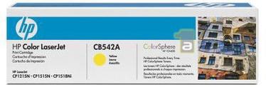 HP Color LaserJet CB542A YELLOW
