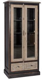 Шкаф-витрина Home4you Watson, 90x45x180 см