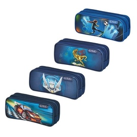 Herlitz Double Pencil Case Mix Boys 1