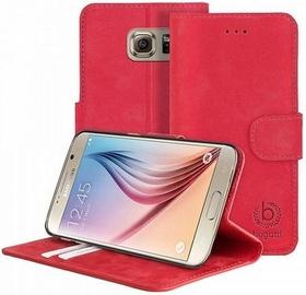 Bugatti Madrid Book Cover For Samsung Galaxy S6 Red