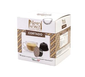 Kafijas kapsulas NeroNobile Dolce Gusto Cortado, 16 gab.