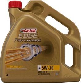 Машинное масло Castrol Edge Professional A5 5W - 30, синтетический, для легкового автомобиля, 4 л