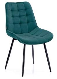 Ēdamistabas krēsls Homede Algate, zila, 4 gab.