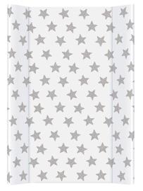 Pārtinamais galds Ceba Baby Comfort Day & Night Stars, 70 cm x 50 cm, balta/pelēka