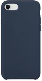 Hurtel Soft Flexible Rubber Back Case For Apple iPhone 7/8/SE 2020 Dark Blue