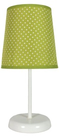 Candellux Gala 41-98262 40W E14 Table Lamp Green Dotted