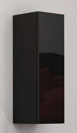 Cama Meble Vigo 90 Full Cabinet Black/Black Gloss
