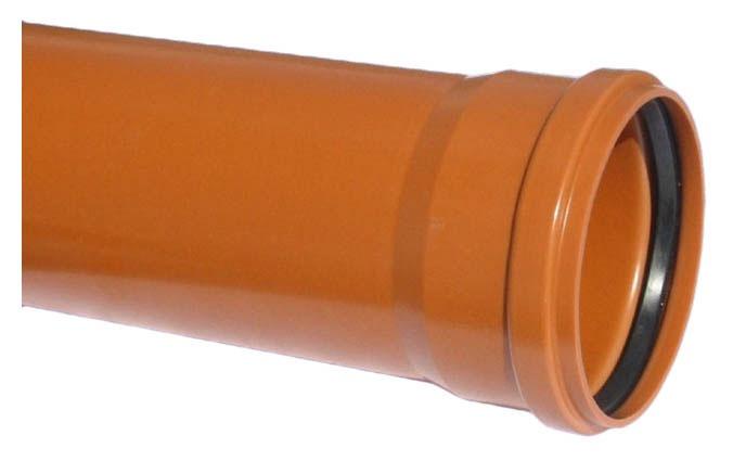 Āra kanalizācijas caurule Wavin SN4 D160x3000mm, PVC