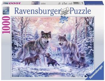 Ravensburger Puzzle Arctic Wolves 1000pcs