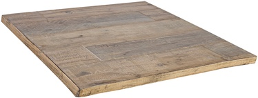 Home4you Table Top Ralf 75x75 Faded Wood