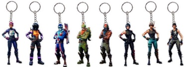 Jazwares Fortnite 2D Key Chain Assortment