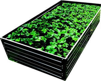 Klasika Raised Bed Garden 1500x750x300mm Grey