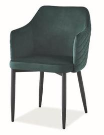 Ēdamistabas krēsls Signal Meble Astor Velvet Green