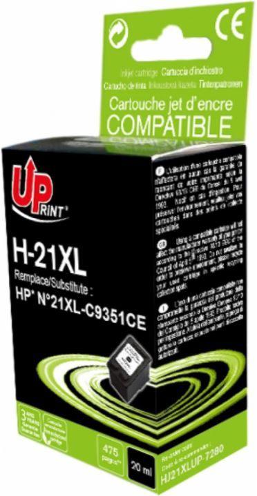 Uprint Cartridge for HP 20ml Black