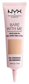 Tonizējošais krēms NYX Bare With Me Tinted Skin Veil Natural Soft Beige