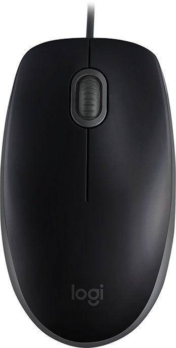 Datorpele Logitech B110 Silent, melna