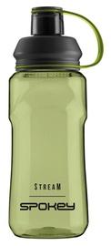 Dzeramā ūdens pudele Spokey Stream, zaļa, 0.5 l