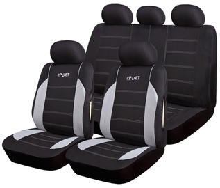 Bottari R.Evolution Maiorca Seat Cover Set Black Grey 17096