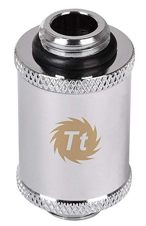 Thermaltake Pacific G1/4 Male to Male 30mm Extender Chrome