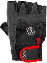 Spokey Fiks Fitness Gloves Black/Red XL