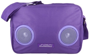 Fydelity Fyd Daily G-Force Bag with Speakers Purple