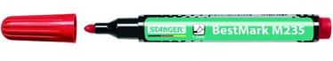 Stanger M235 BestMark Permanent Marker 1-3mm 10pcs Red 712002