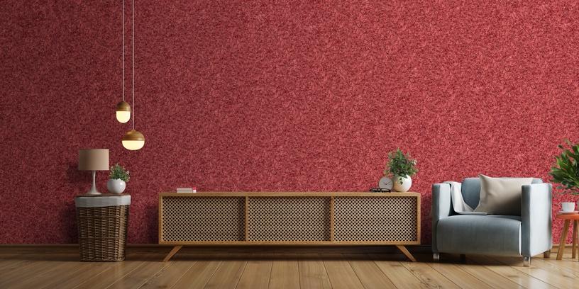 Domoletti 938 Liquid Wallpaper Bordo