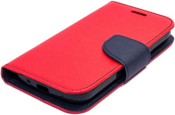Telone Fancy Diary Bookstand Case For Samsung Galaxy J6 J600F Red/Blue