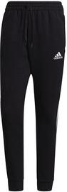 Bikses Adidas Essentials Fleece Tapered Cuff 3-Stripes Pants GK8967 Black L