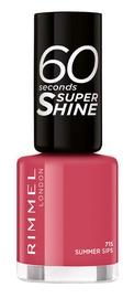 Rimmel London 60 Seconds Super Shine 8ml Nail Polish 715